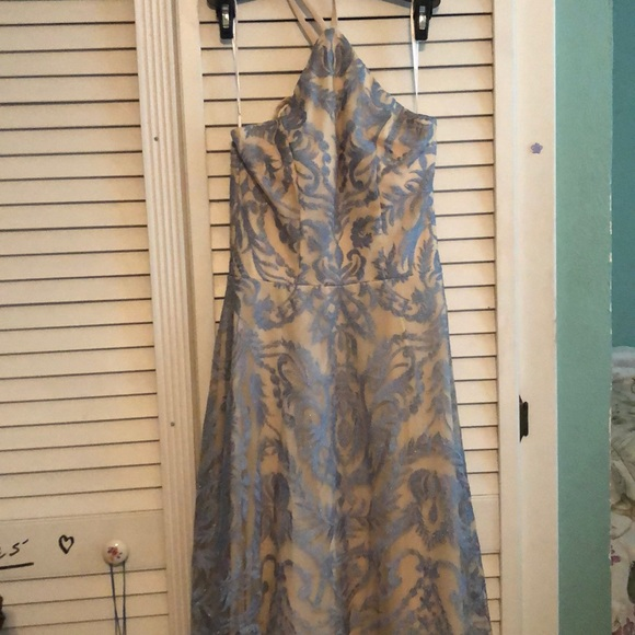 jcpenney Dresses & Skirts - Blue-nude prom dress